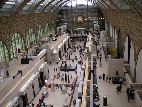 Musee d' Orsay Easter Sunday 2005