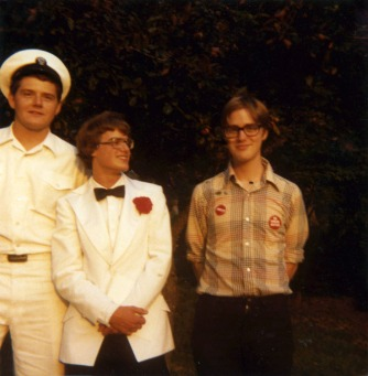 Me & my brothers in 1980