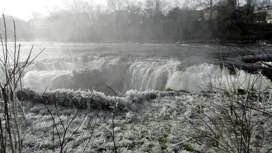 Paterson Great Falls & Frosted Grass