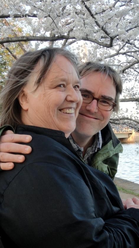 Mom & Steve at Tidal Basin 2