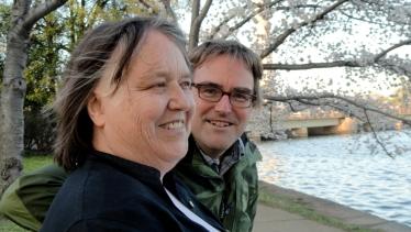 Mom & Steve at Tidal Basin