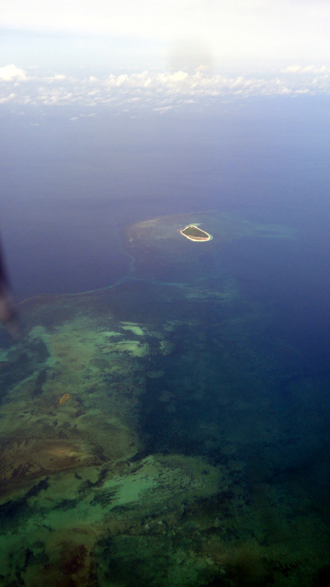 Islands & Coral off Coast of Gulf Province