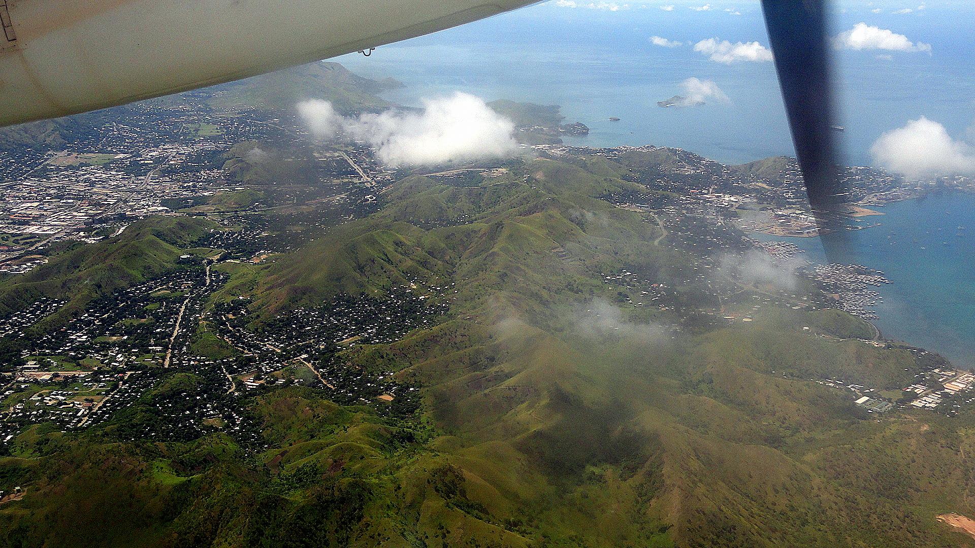 POM Sprawl from the Air