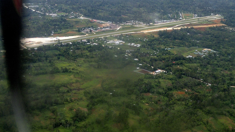 Tair Airstrip from the Air