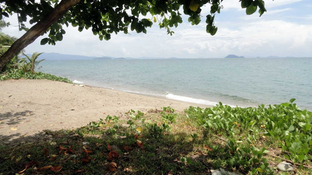 A Bougainville Beach
