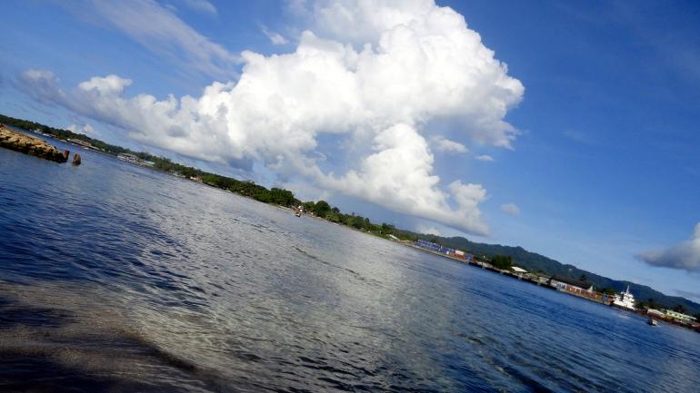 Buka Harbor and Passage