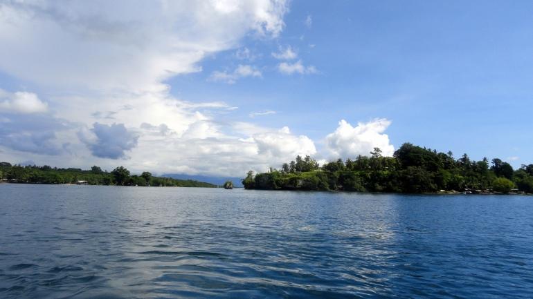 Bville Big Island & Small Island from Buka