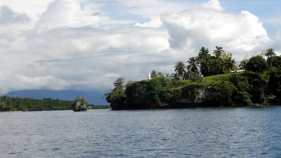 Bville Little Island & Big Island from Buka