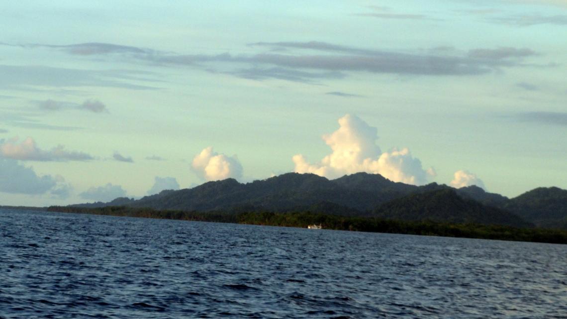 Clouds, Islands, Ocean