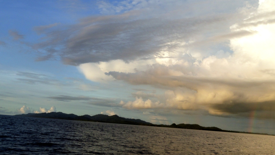 Partial Rainbow over Bougainville