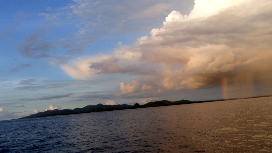 Rain and Rainbows over Bougainville 2