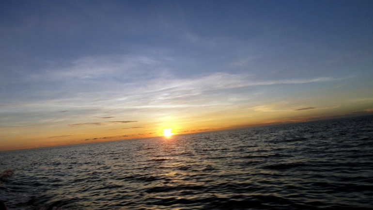 Sunset in Bougainville