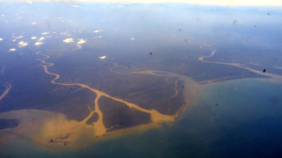 Coastline in Gulf State