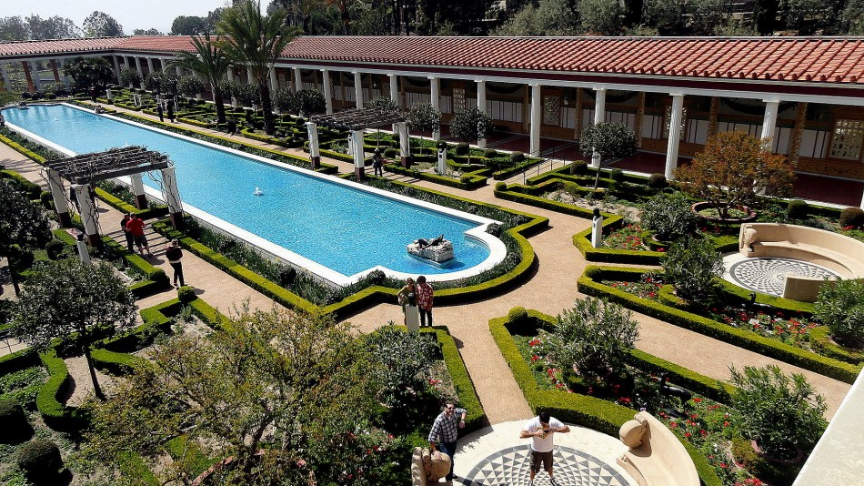 Getty Villa - Main Garden