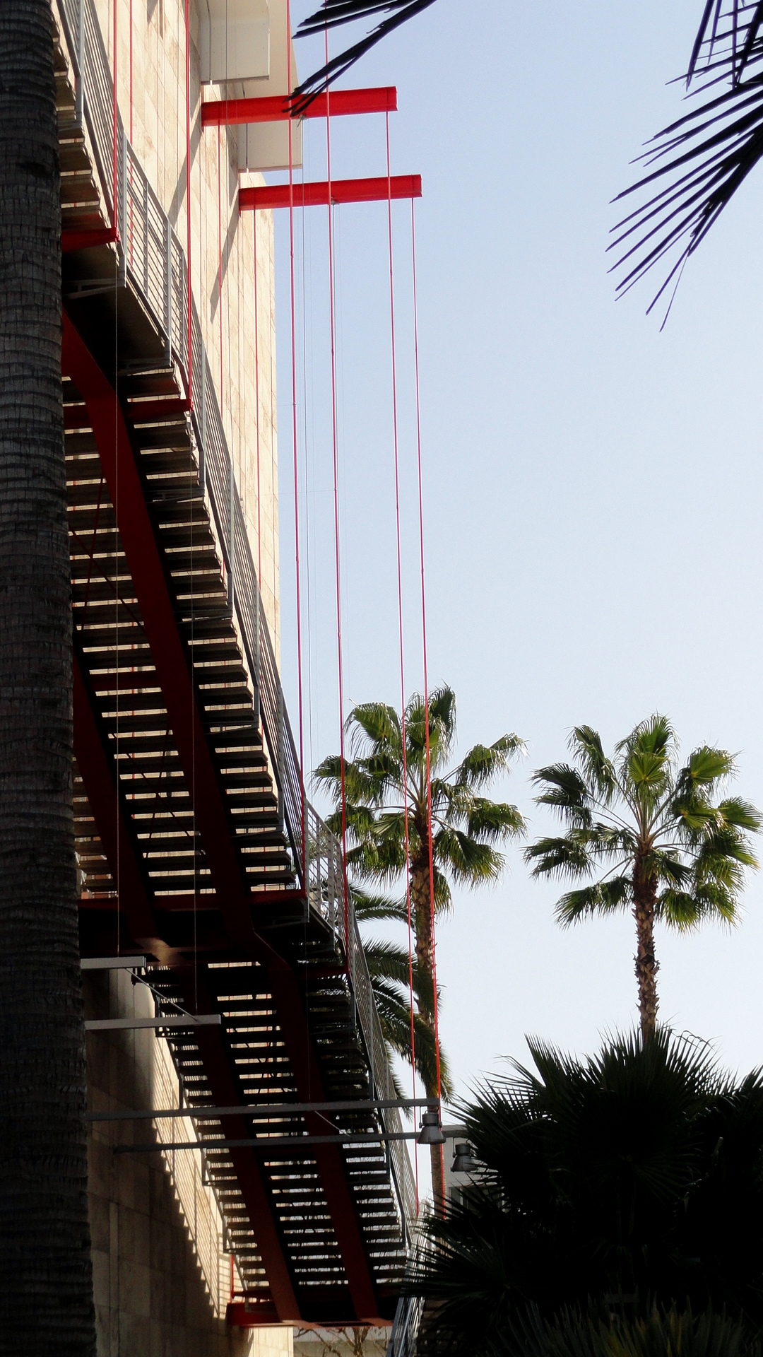 LACMA Stairway & Palms