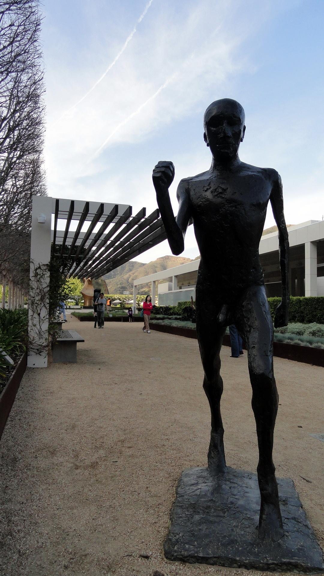 Sculpture Garden - Getty Ctr