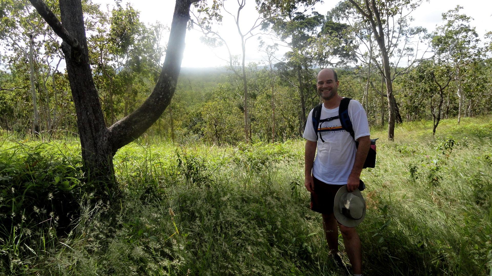 Paul in Grasslands on RP Walk
