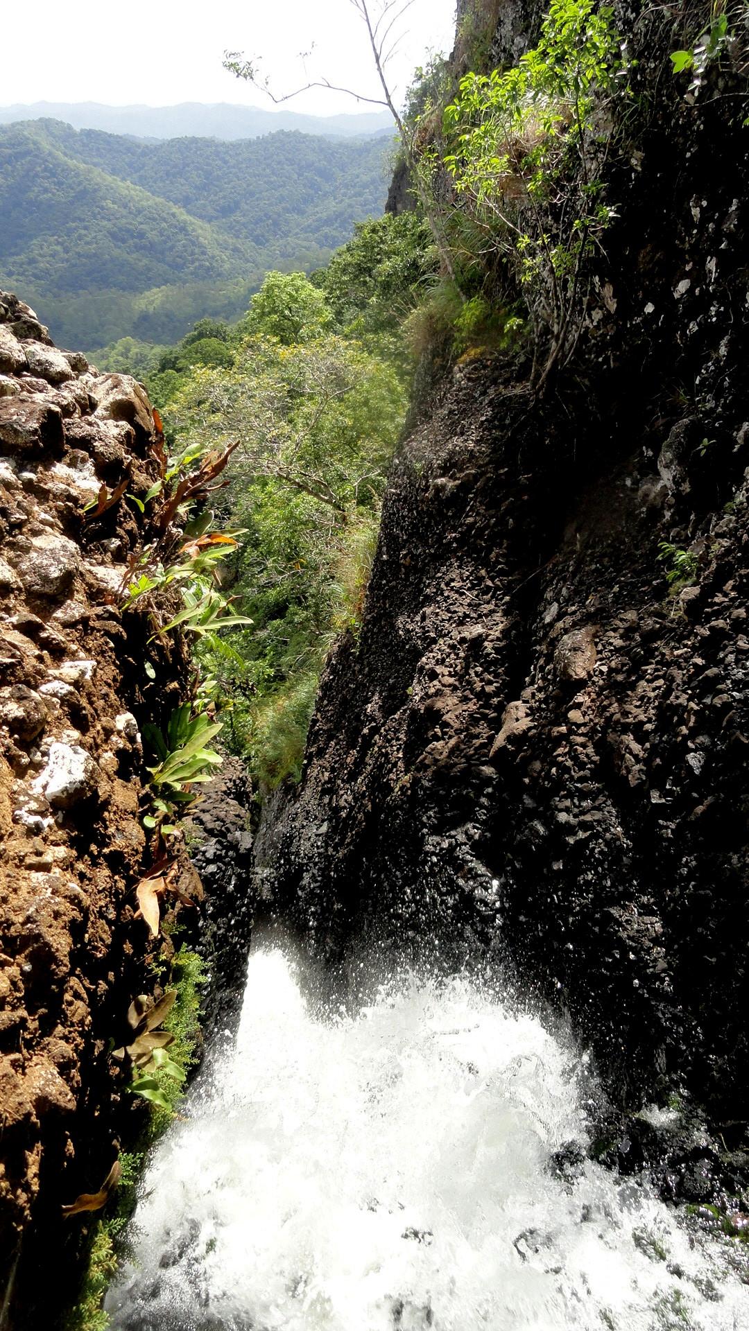 Tumbling Water & Distant Vista