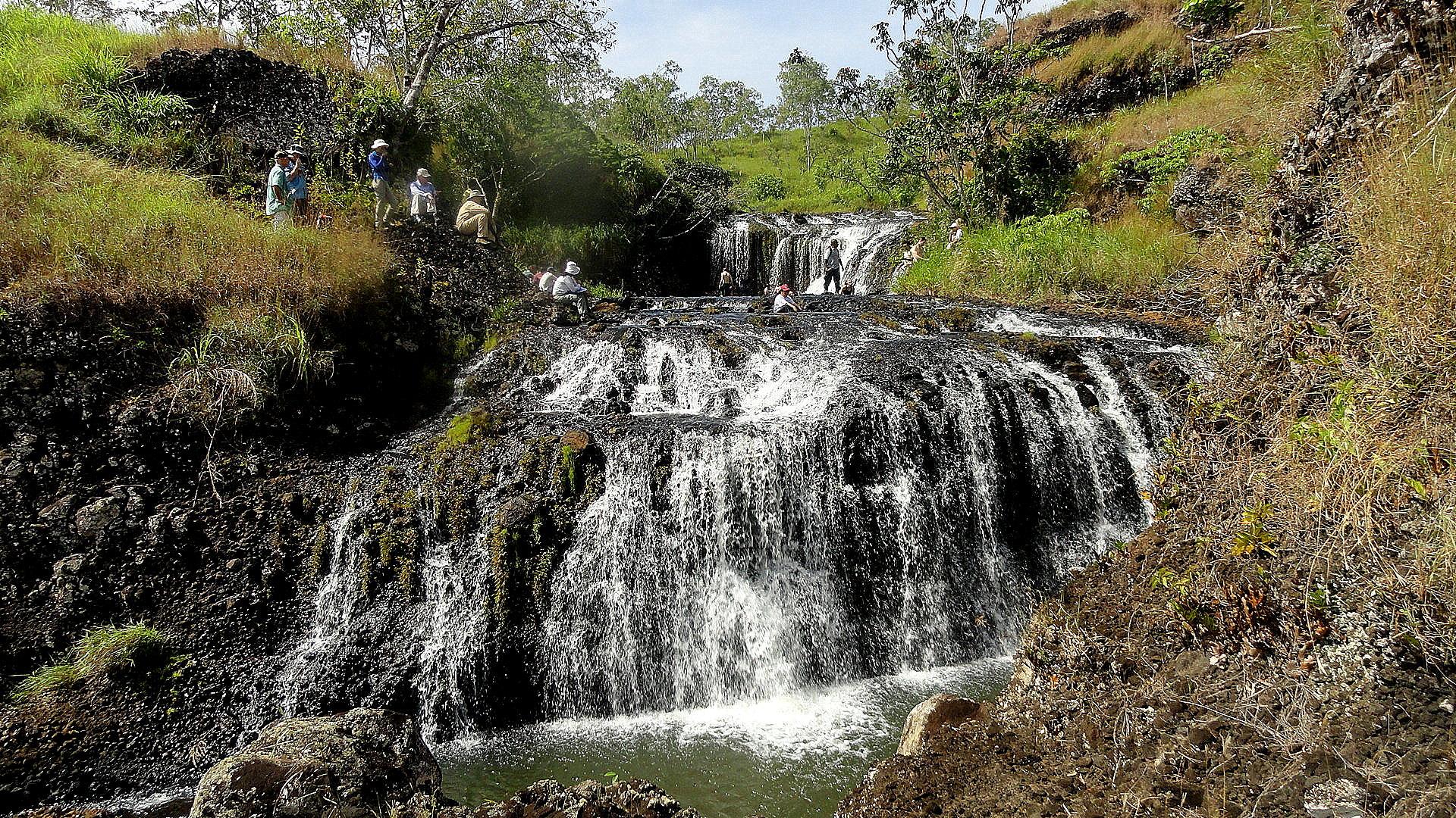 Waterfall - Rubber Plantation Walk