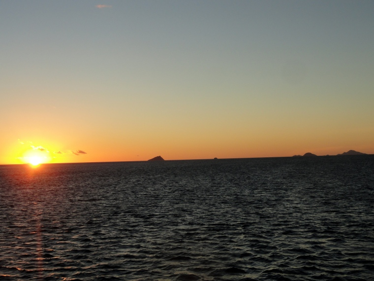 130809 Sunset Onboard