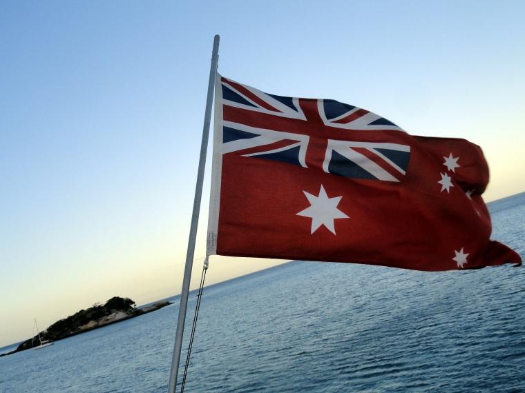 Maritime Flag & Mini Lizard Island