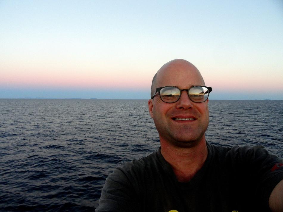 Paul Bday AM Onboard