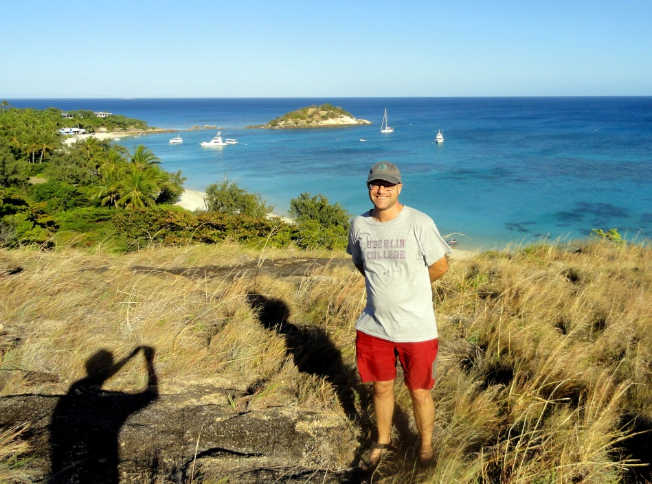 Paul & Two Shadows on Lizard Island