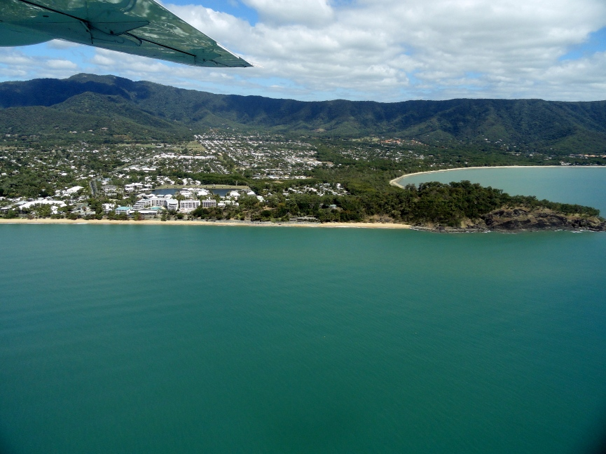 Trinity Beach from the Air