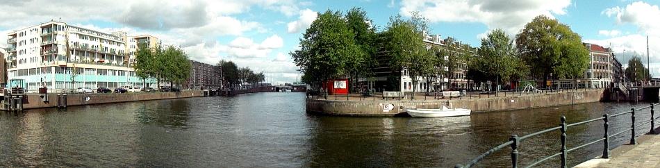 Amsterdam Canal-Corner