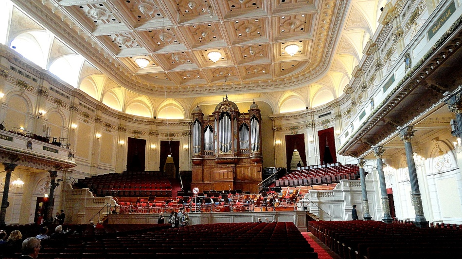 Cgebouw Interior & Organ