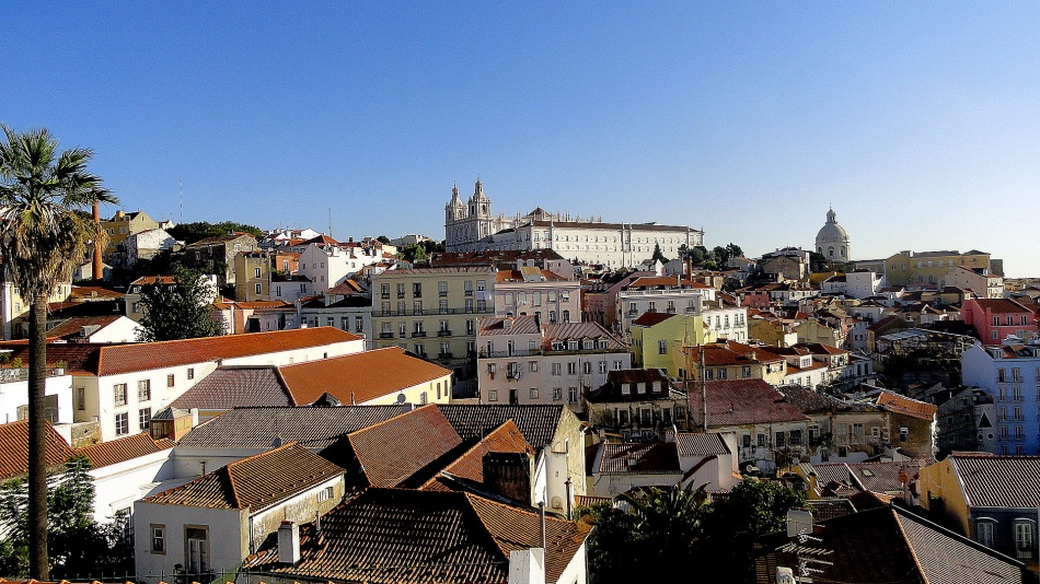Alfama Hillside & Church