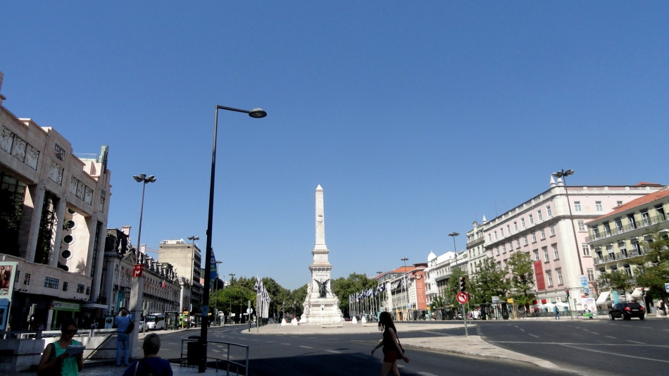 Avenida da Liberdade Statue