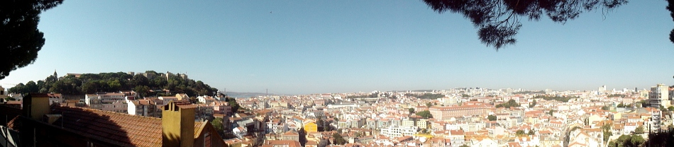 Castelo & Bridge from Graca Pano