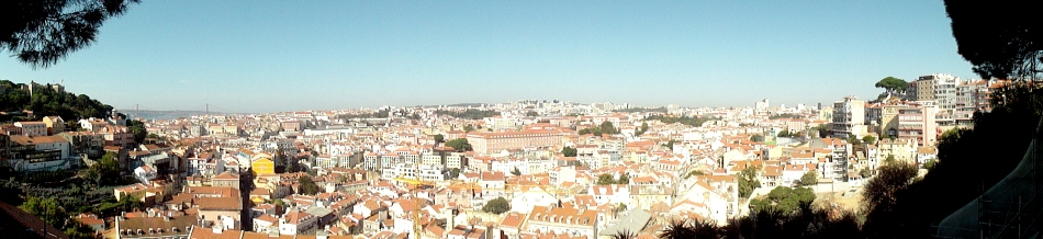 Castelo & City from Graca Pano