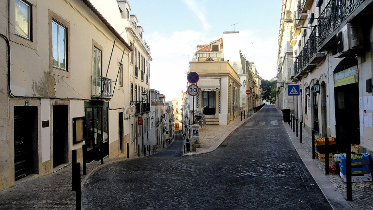 Chiado Street Corner