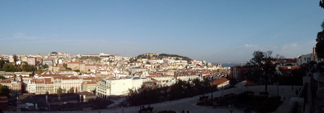 City Panorama from Alfama 3