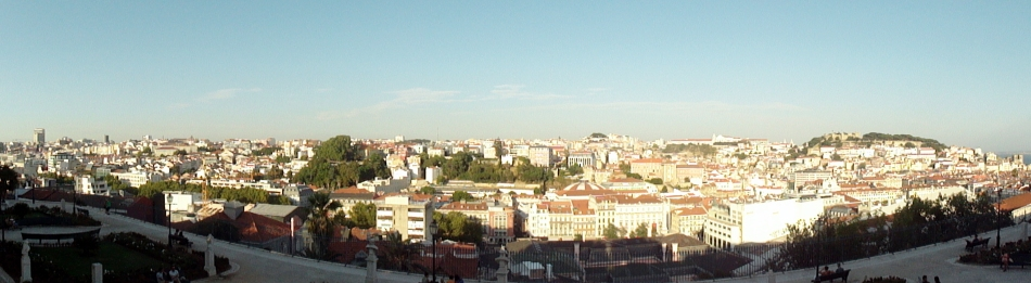 CityPanorama from Alfama 2