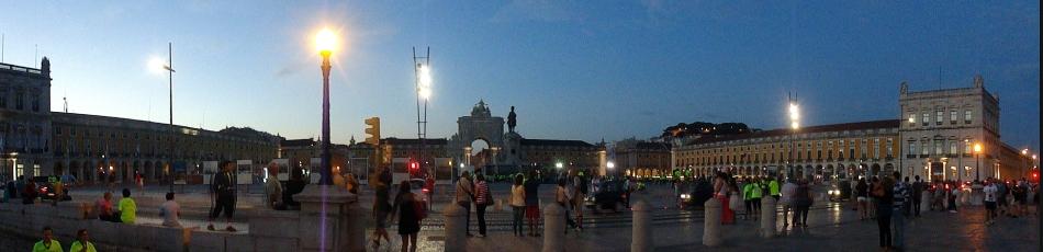 Comercio Square Panorama