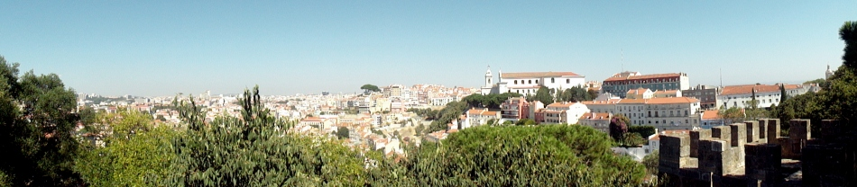 Graca Convento & Tile Facades from Castelo Pano 2