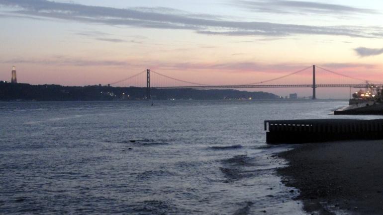 River & Bridge Sunset