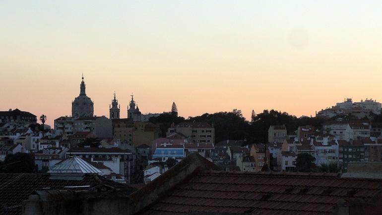 Sunset Church & Rooftops