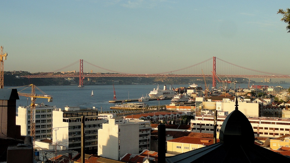 Tagus Bridge at Dawn