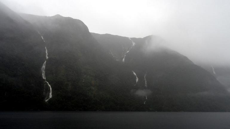 Misty Hillside Awah