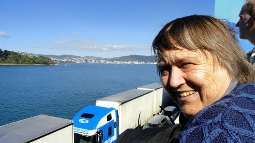 Mom on Ferry