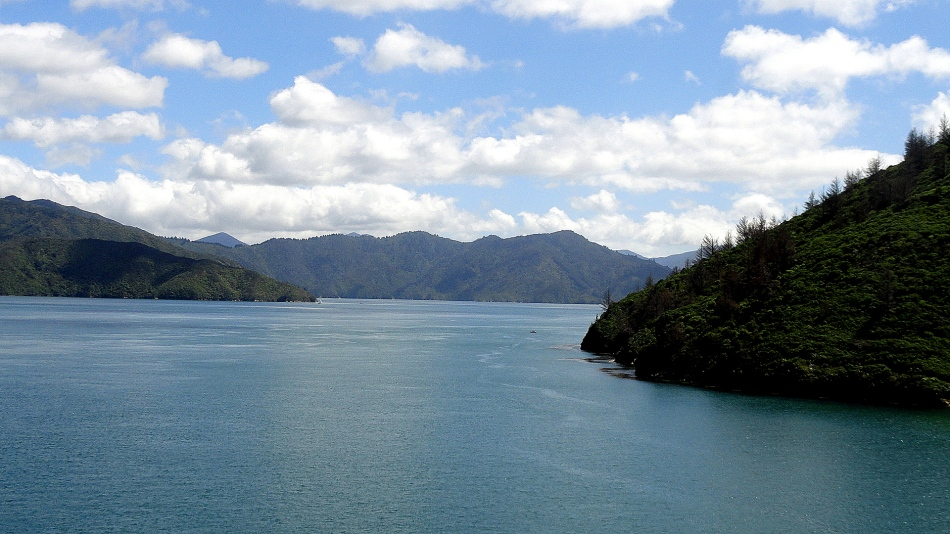 Tory Channel to Queen Charlotte Sound