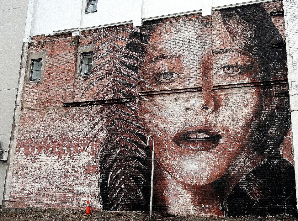 Brickwork Street Art