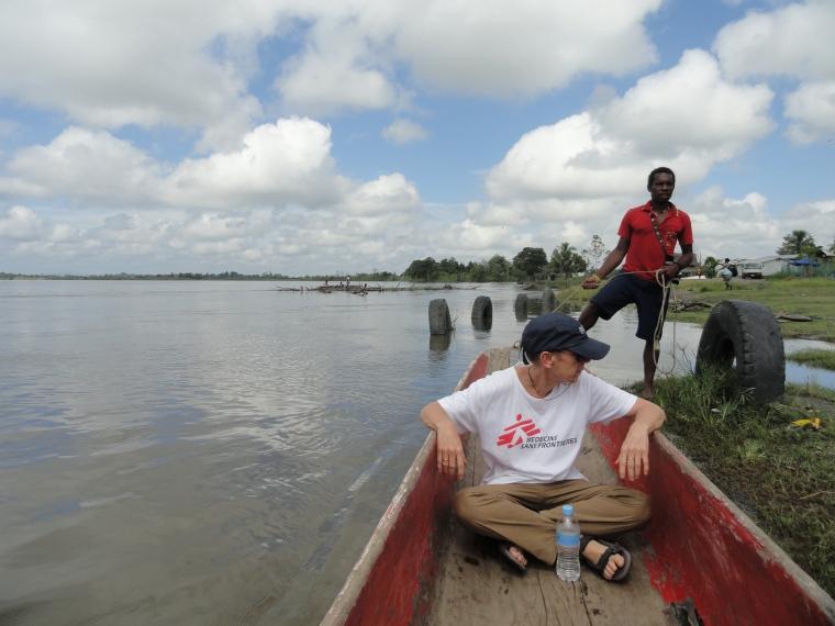 Marja in Boat