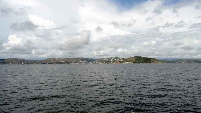 Moresby Harbor & Hills