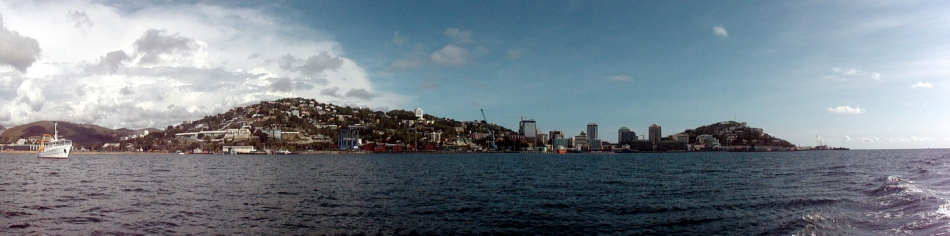 Moresby Harbor Pano