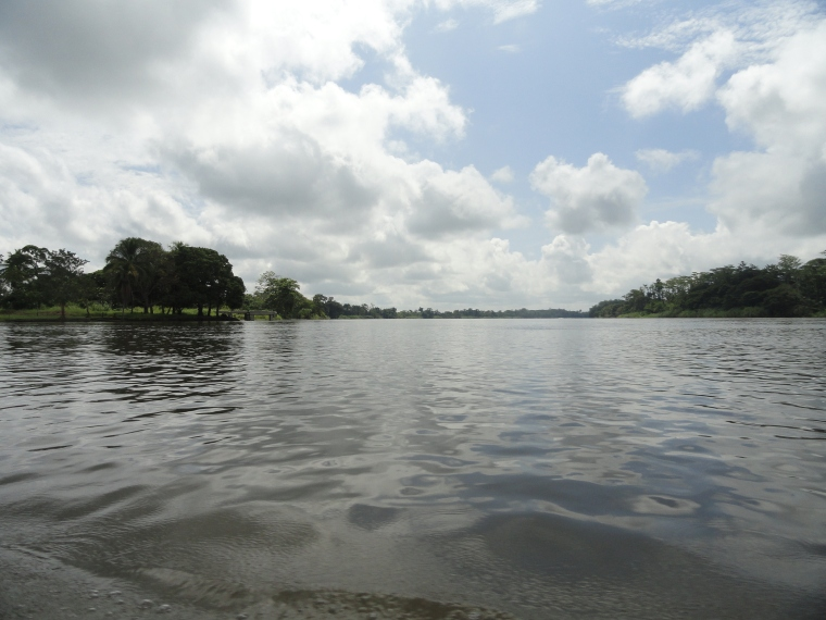 Sepik River at Pagwi